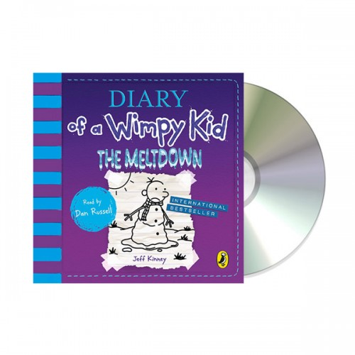 Diary of a Wimpy Kid #13 : The Meltdown (Audio CD, 영국판)