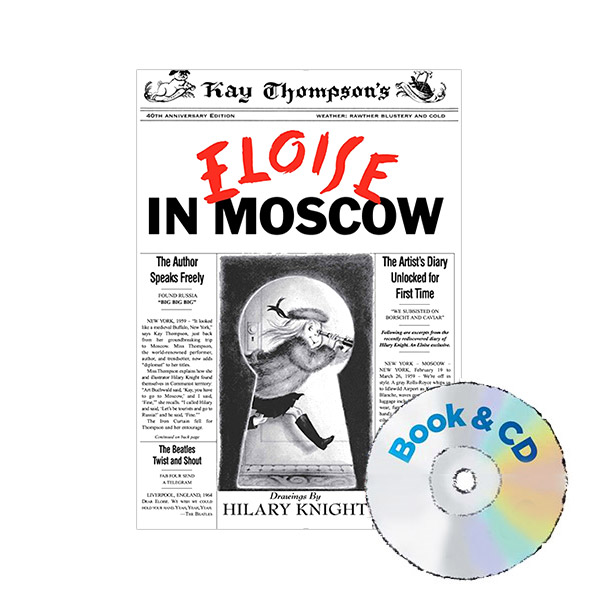 Eloise in Moscow (Book & CD / Paperback)