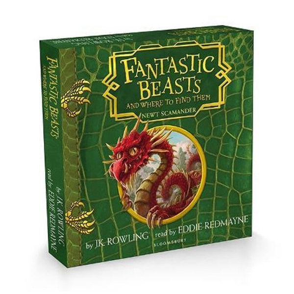 [★북캉스] Fantastic Beasts and Where to Find Them (Audio CD, 영국판)(도서미포함)