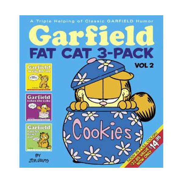 Garfield Fat Cat 3-Pack #2 (Paperback)