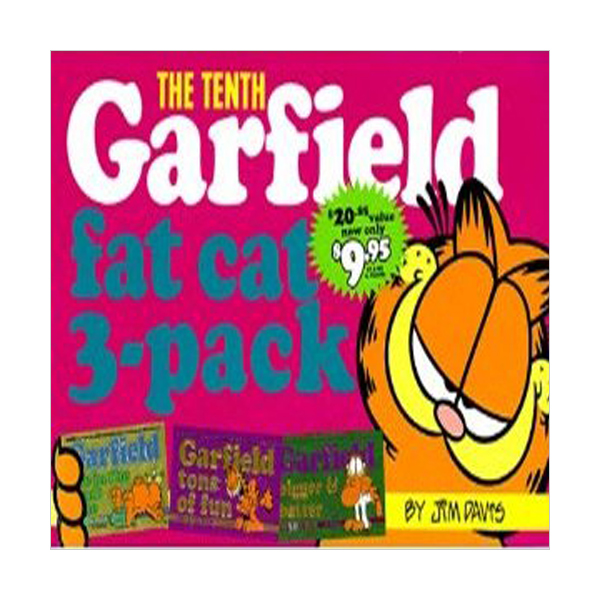 Garfield Fat Cat 3-Pack Mini #10 (Paperback)