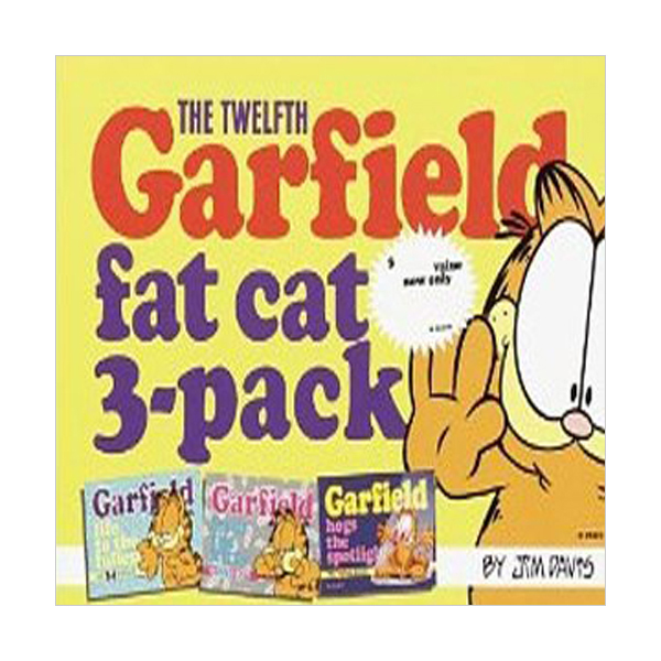 Garfield Fat Cat 3-Pack Mini #12 (Paperback)