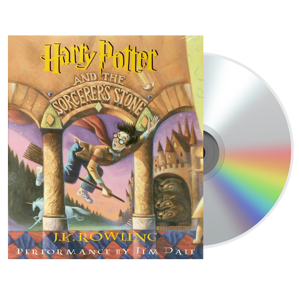 해리포터 #01 : Harry Potter and the Sorcerer's Stone (Audio CD, 미국판)(도서미포함)