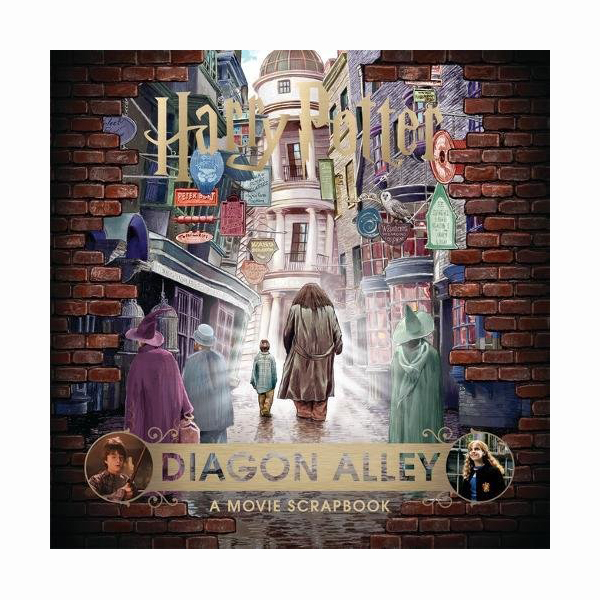 Harry Potter Diagon Alley: A Movie Scrapbook (Hardcover, 영국판)
