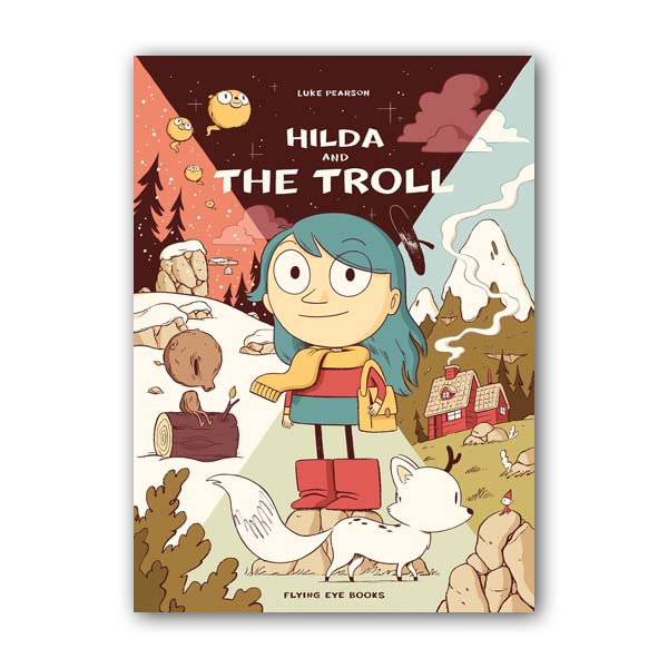 [넷플릭스] Hildafolk #01 : Hilda and the Troll  (Paperback, 영국판)