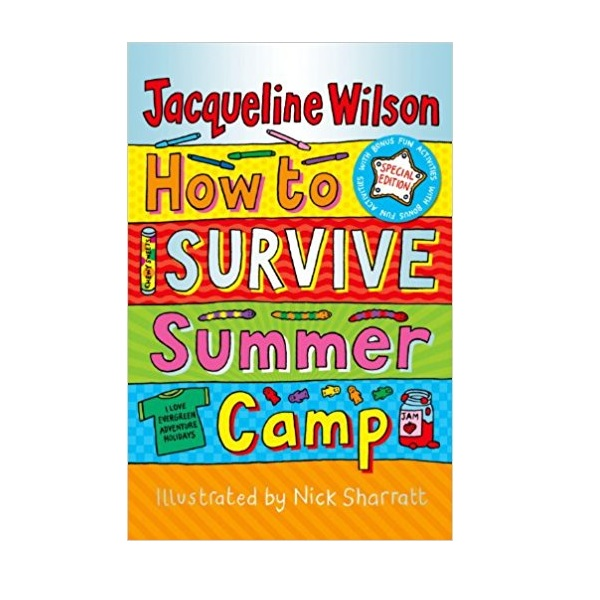 Jacqueline Wilson : How to Survive Summer Camp (Paperback,영국판)