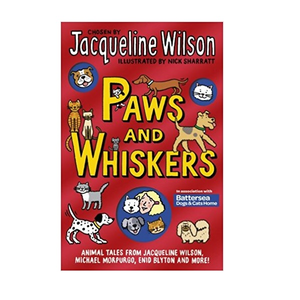 Jacqueline Wilson : Paws and Whiskers (Paperback)