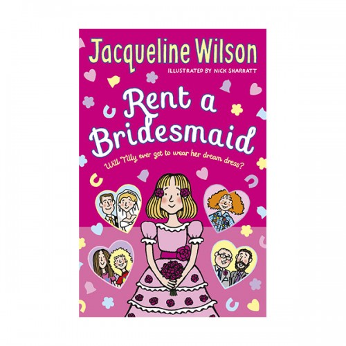 Jacqueline Wilson : Rent a Bridesmaid (Paperback)
