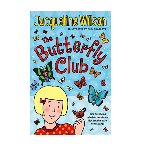 Jacqueline Wilson : The Butterfly Club (Paperback, 영국판)