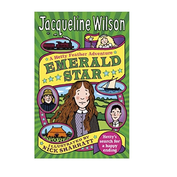 Jacqueline Wilson 고학년 : Hetty Feather : Emerald Star (Paperback,영국판)