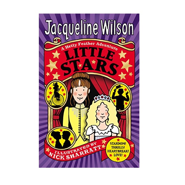 Jacqueline Wilson 고학년 : Hetty Feather : Little Stars (Paperback,영국판)