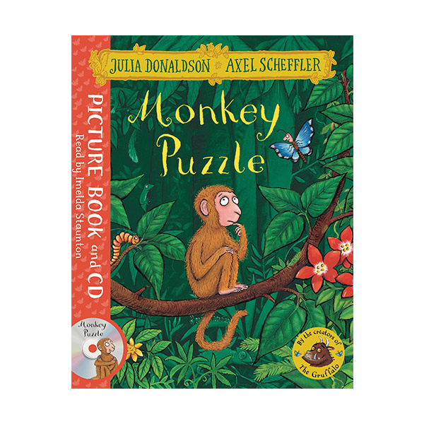 Monkey Puzzle (Book & CD, 영국판)