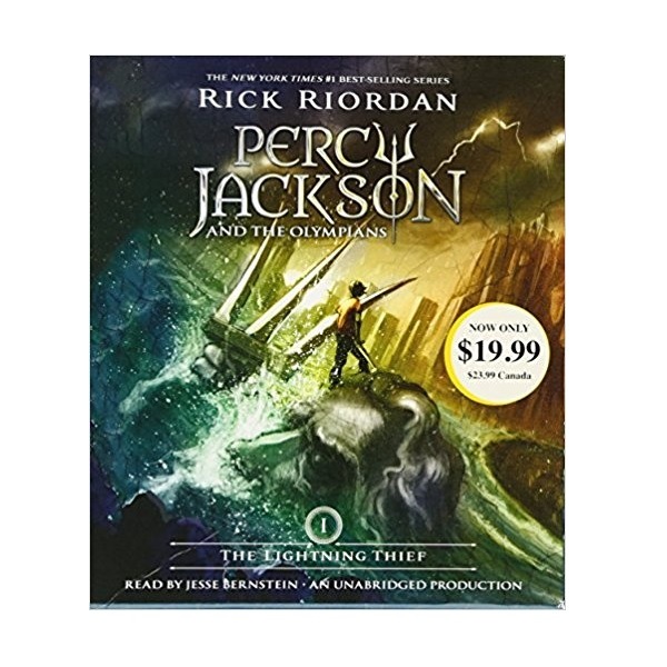 Percy Jackson and the Olympians Series #1: The Lightning Thief (Audio CD)