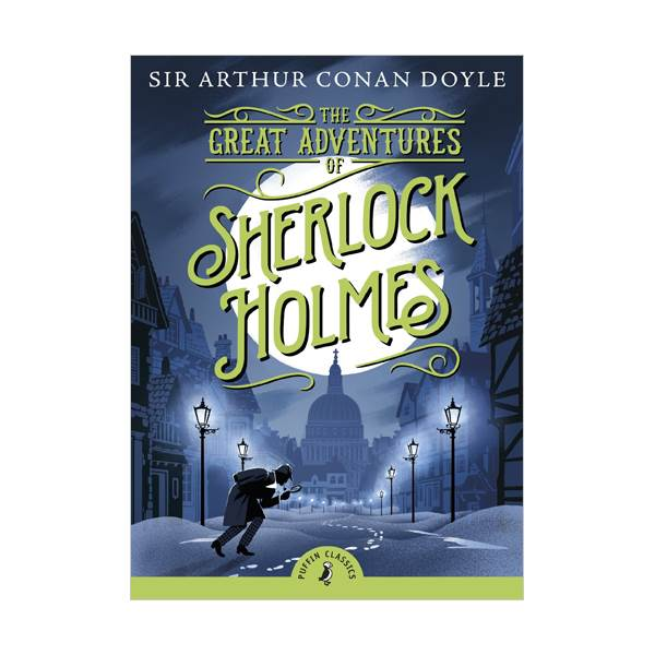 Puffin Classics : The Great Adventures of Sherlock Holmes (Paperback)
