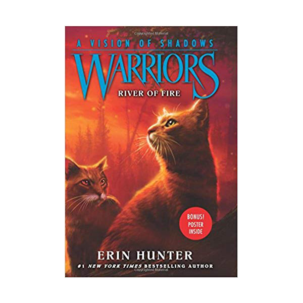 Warriors 6부 A Vision of Shadows #05 : River of Fire (Hardcover)