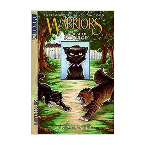 RL 2.3 [Warriors Manga] #4: The Rise of Scourge (Paperback)