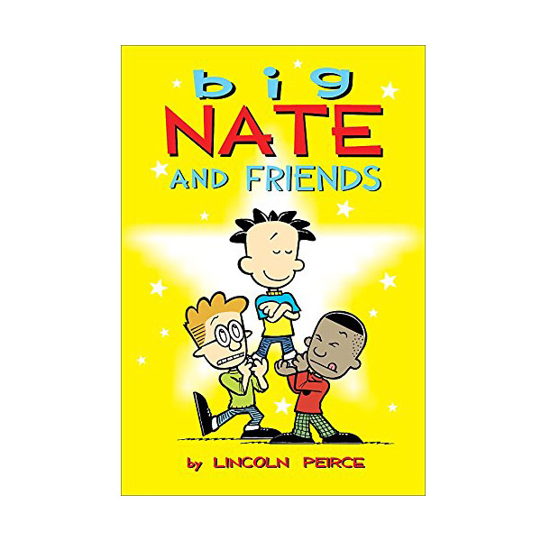 RL 2.4 : Big Nate and Friends : Color Edition (Paperback)