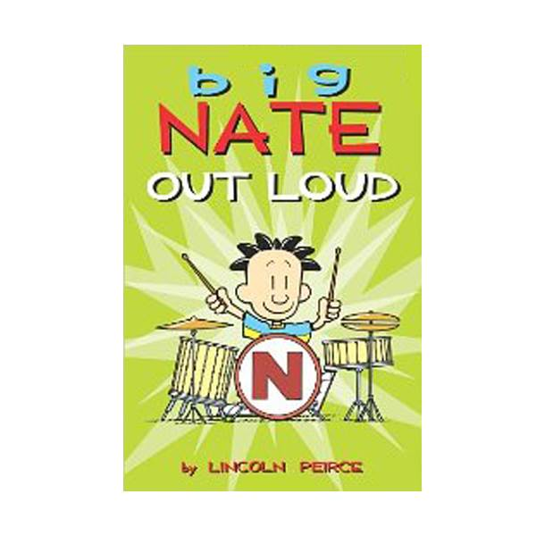 RL 2.5 : Big Nate Out Loud : Color Edition (Paperback)