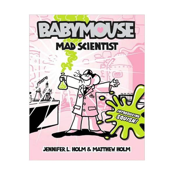Babymouse #14 : Mad Scientist (Paperback)