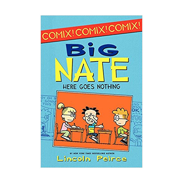 RL 2.7 : Big Nate Here Goes Nothing (Paperback)