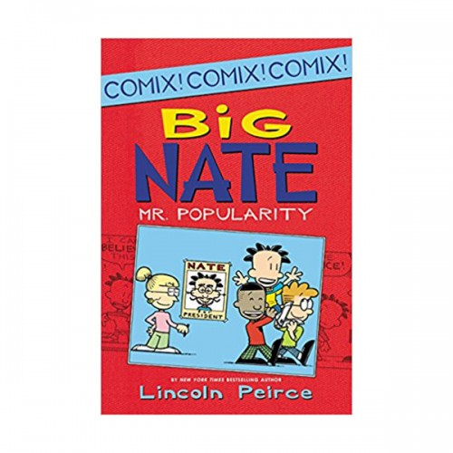 Big Nate : Mr. Popularity : Color Edition (Paperback)