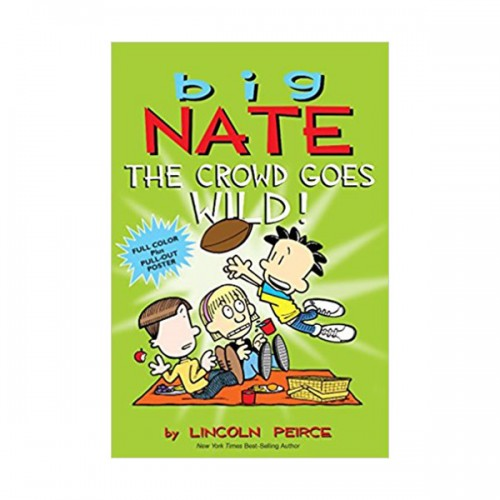 RL 2.9 : Big Nate : The Crowd Goes Wild! : Color Edition (Paperback)