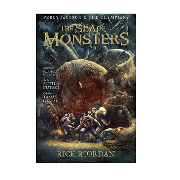 RL 2.9 : Percy Jackson and the Olympians Series #2 : The Sea of Monsters : The Graphic Novel (Paperback)