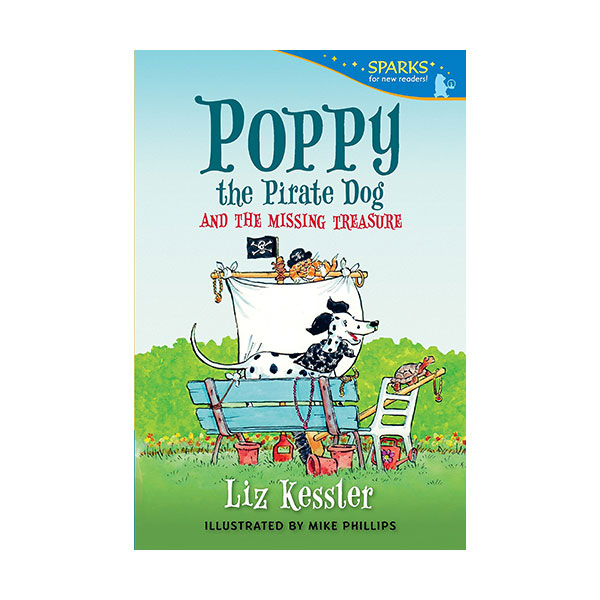 RL 3.1 : Candlewick Sparks : Poppy the Pirate Dog and the Missing Treasure (Paperback)