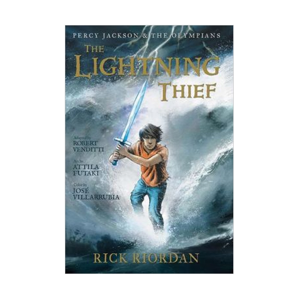 RL 3.1 : Percy Jackson and the Olympians Series #1 : The Lightning Thief : The Graphic Novel (Paperback)