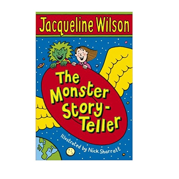 RL 3.2 : Jacqueline Wilson 저학년 : The Monster Story-Teller (Paperback)