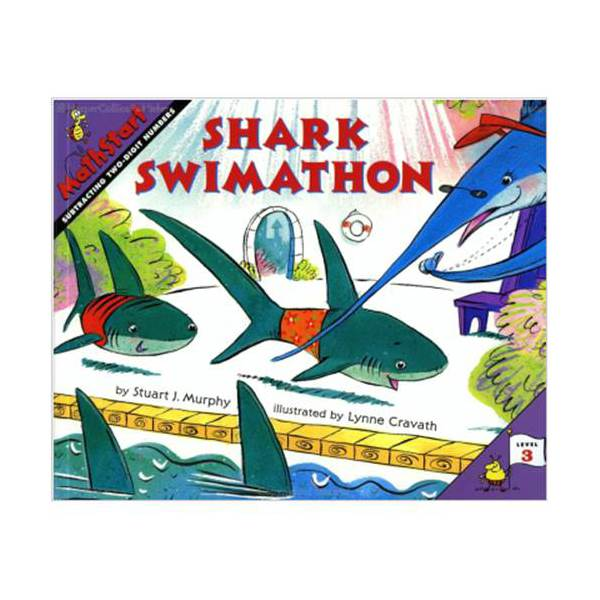 MathStart 3 : Shark Swimathon: Subtracting Two Digit Numbers (Paperback)