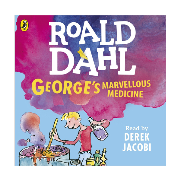 RL 4.0 : Roald Dahl : George's Marvelous Medicine (CD, 영국판)