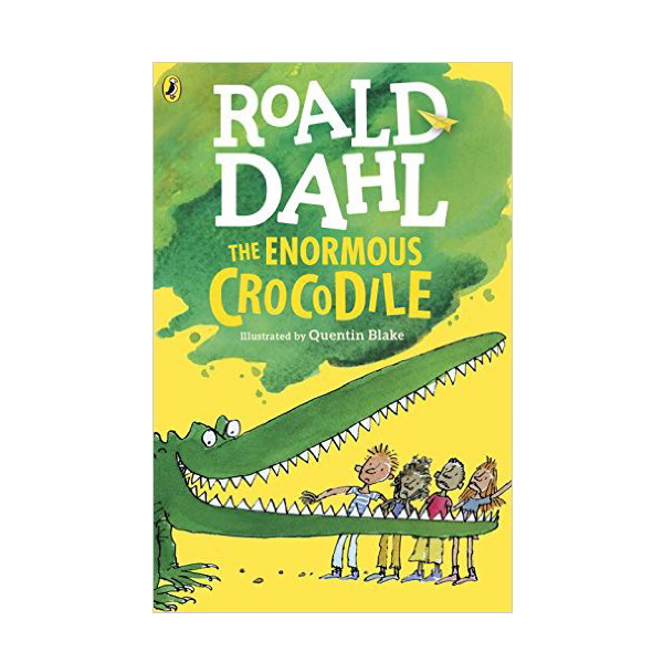 RL 4.0 : Roald Dahl : The Enormous Crocodile (Paperback)
