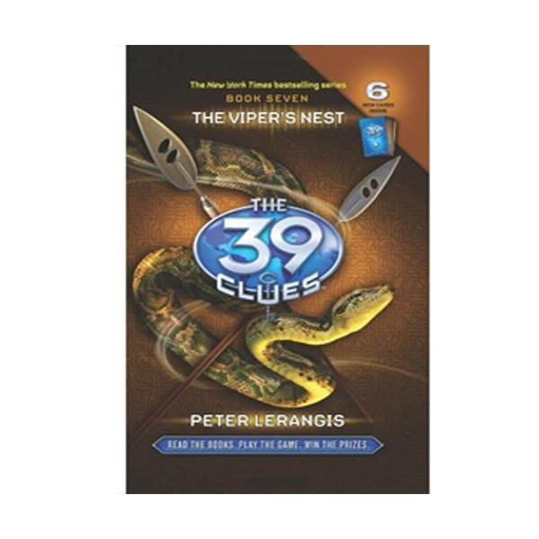 [스콜라스틱]  The 39 Clues #07 : The Viper's Nest (Hardcover)