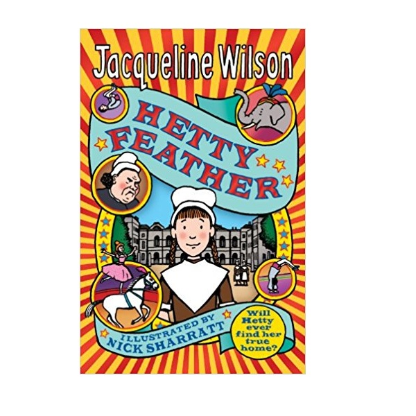 RL 4.3 : Jacqueline Wilson 고학년 : Hetty Feather (Paperback, 영국판)