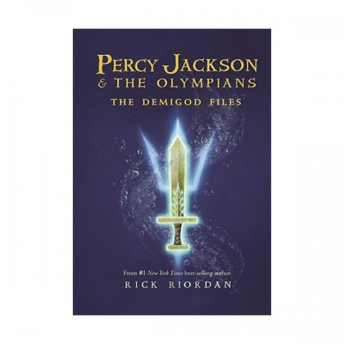 RL 4.3 : Percy Jackson and the Olympians Series: The Demigod Files (Hardcover, Rough-Cut Edition)