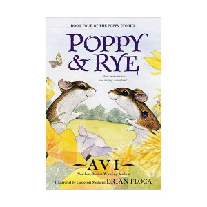 RL 4.3 : The Poppy Stories #03 : Poppy and Rye (Paperback)