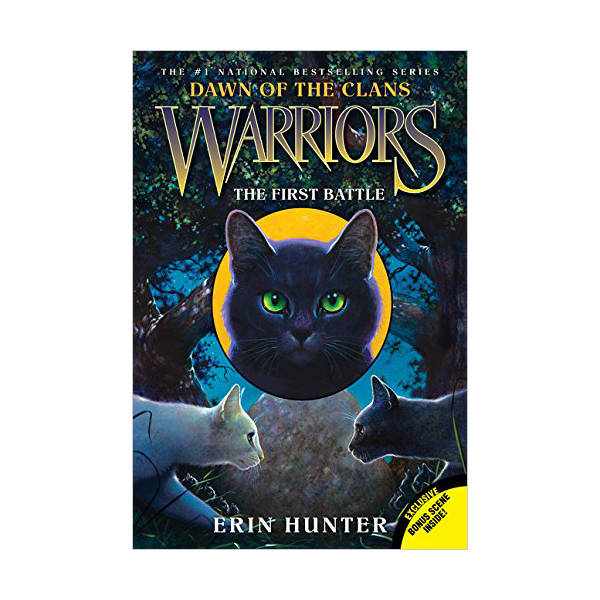 RL 4.3 : Warriors : Dawn of the Clans #3 : The First Battle (Paperback)