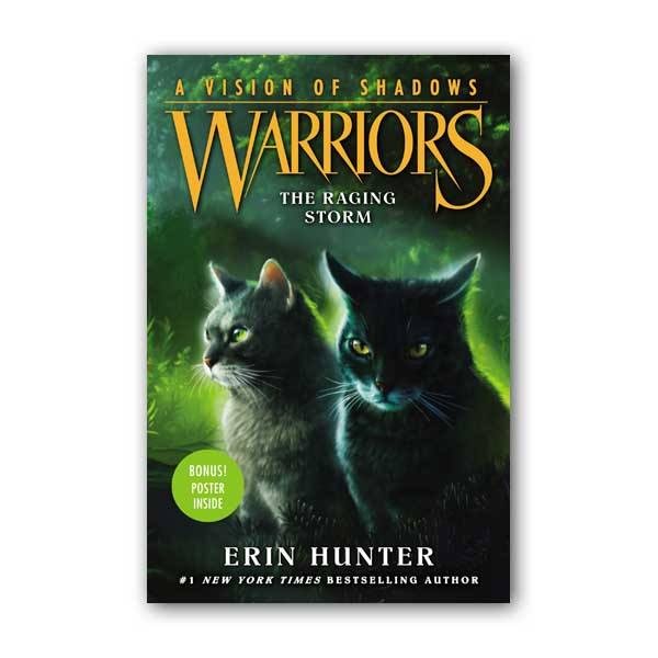 Warriors 6부 A Vision of Shadows #06 : The Raging Storm (Hardcover)