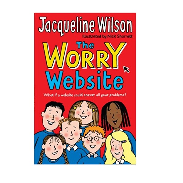 RL 4.4 : Jacqueline Wilson 저학년 : The Worry Website (Paperback, 영국판)