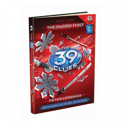 [스콜라스틱]  The 39 Clues #03 : The Sword Thief (Hardcover)