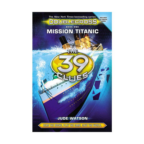[스콜라스틱] The 39 Clues : Doublecross #01 : Mission Titanic (Hardcover)