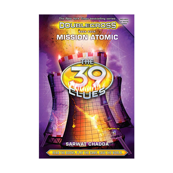 [스콜라스틱]  The 39 Clues : Doublecross #04 : Mission Atomic (Hardcover)