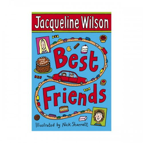 RL 4.5 : Jacqueline Wilson 고학년 : Best Friends (Paperback)