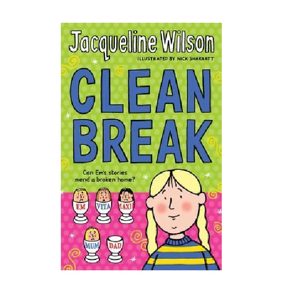 RL 4.5 : Jacqueline Wilson 고학년 : Clean Break (Paperback, 영국판)