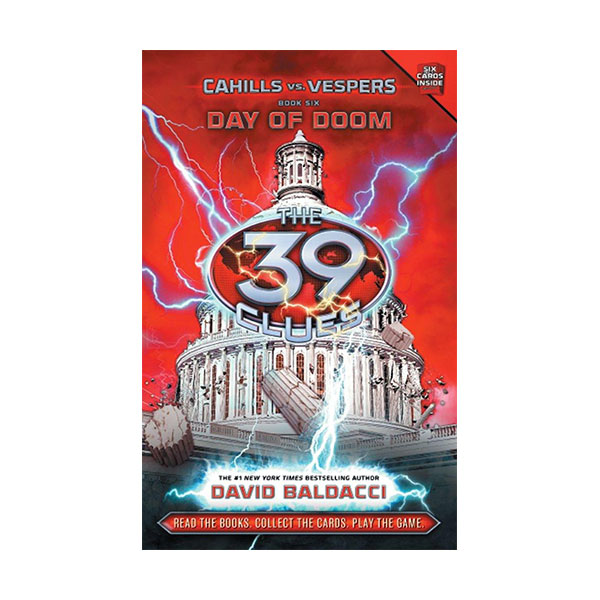 [스콜라스틱]  The 39 Clues : Cahills vs. Vespers #06 : Day of Doom (Hardcover)