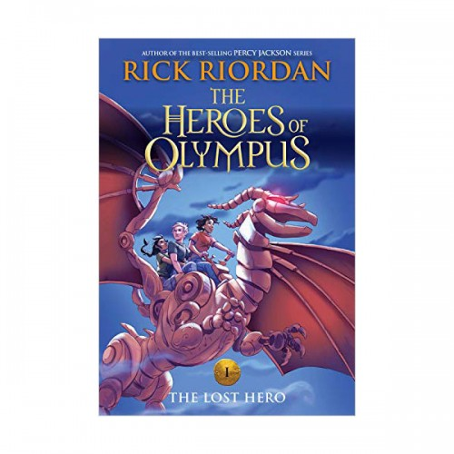 RL 4.5 : The Heroes of Olympus #1 : The Lost Hero (Paperback)