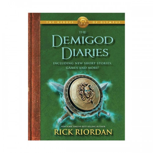 RL 4.5 : The Heroes of Olympus Series: The Demigod Diaries (Hardcover, Rough-Cut Edition)