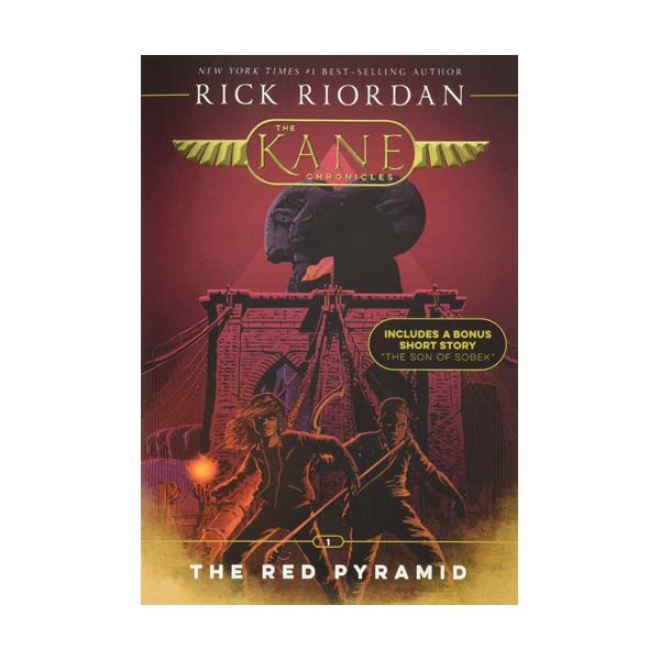 The Kane Chronicles #01 : The Red Pyramid (Paperback)