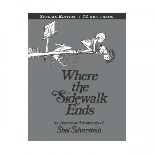Where the Sidewalk Ends : Special Edition (Hardcover / 30주년 기념판)